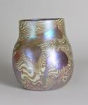 Tiffany Favrile Glass <br> Early Decorated Vase