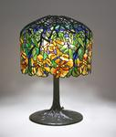 Tiffany Studios   Trumpet Creeper  Table Lamp