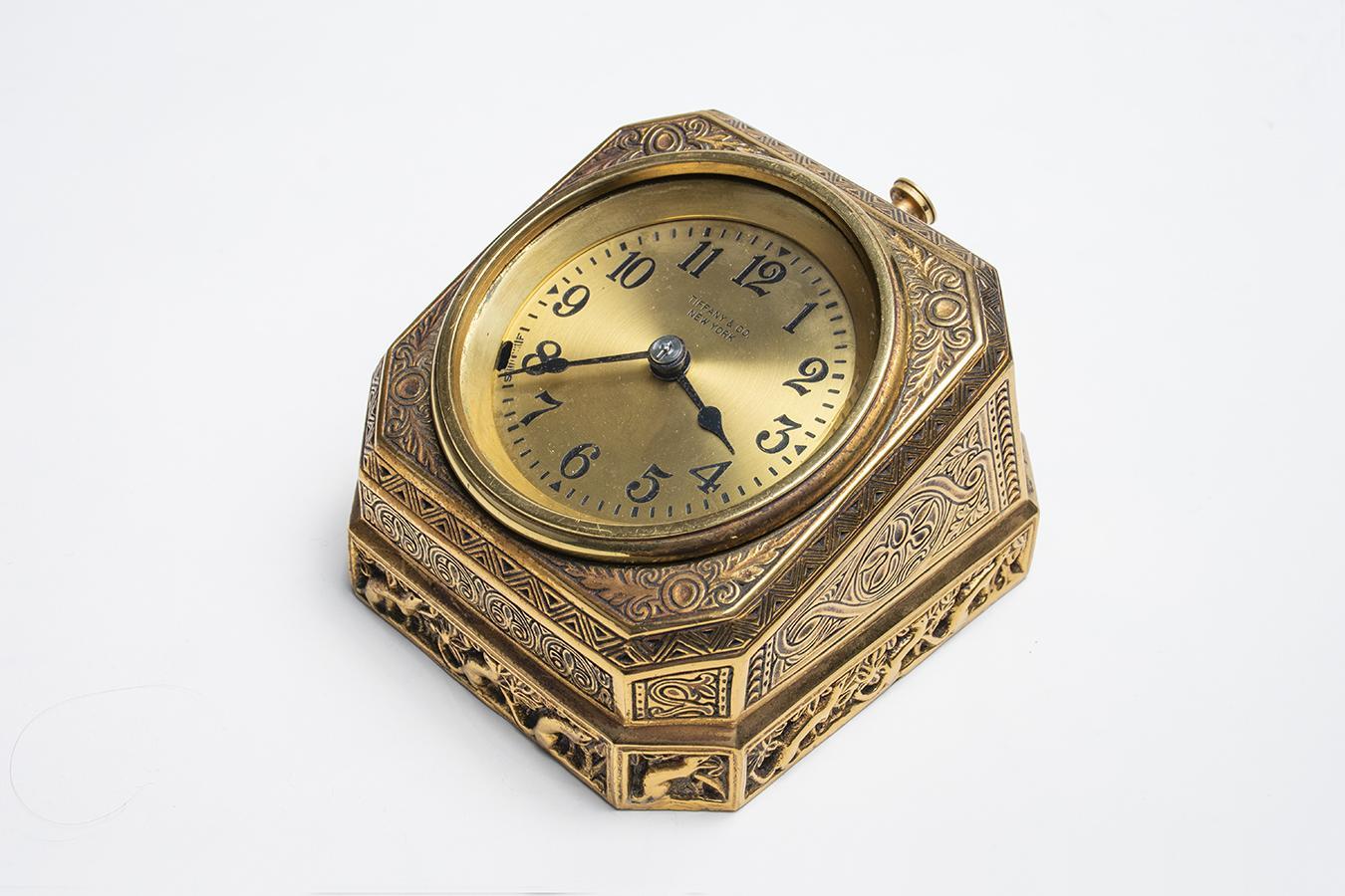 Tiffany Studios  Venetian Desk Clock 2