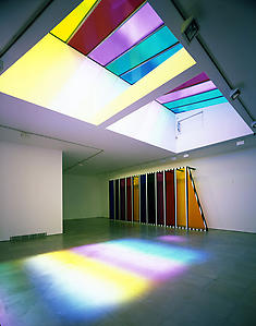 Daniel Buren Photo-souvenir: <i>Dislocated Skylight</i>, Lisson Gallery, 29 & 52-54 Bell Street, 18th May 2007 - 23rd June 2007
