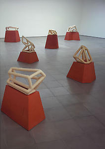 Richard Deacon Installation view <i>Range</i>, Richard Deacon, Lisson Gallery, 52-54 Bell St, London, 30 November 2005 -28 January 2006