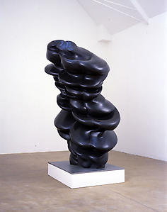Slanted Faces, 2007 Bronze 220 x 120 x 120 cm