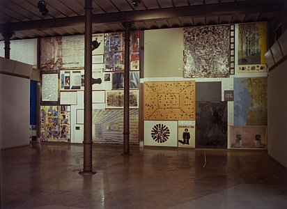 Installation view Fundacio Antoni Tapies, Barcelona 15 April - 27 June, 1999