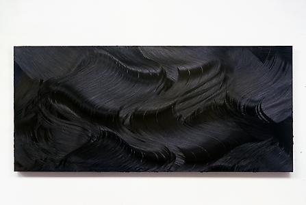 Jason Martin  Province, </i> 2007 Oil on aluminium 180 x 400 cm