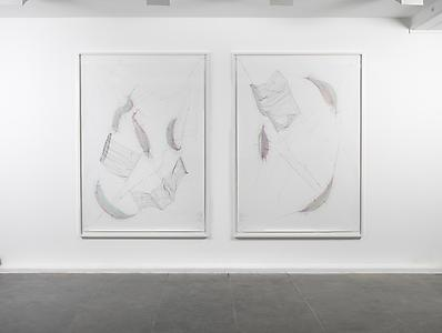 Jorinde Voigt, Installation view  Lisson Gallery, London 2012