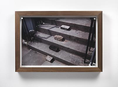 Richard Wentworth  <i>Caledonian Road, London, 2007</i> 2013 C print 31.6 x 48 cm framed dims. 38.8 x 55.2 x 7 cm