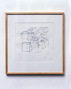 <i>Untitled, </i>1999 Pencil on paper 49.5 x 47.5 cm