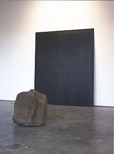 <i>Relatum, </i>1979-96 Iron and Stone 240 x 200.5 x 270 cm
