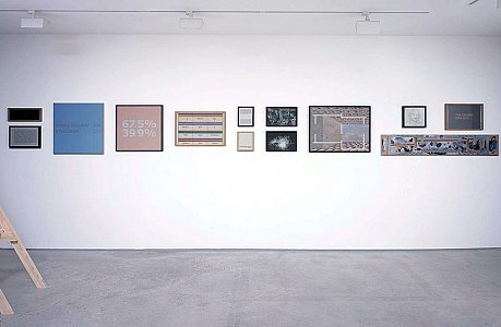 <i>Homes From Homes,</i> 2000-01 Installation view Lisson Gallery 15 November 2002 - 18 January 2003