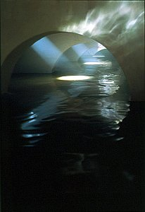 <i>Four Flooded Arches from the Right, </i>1999 C-Print between Perspex 154 x 122 x 4 cm