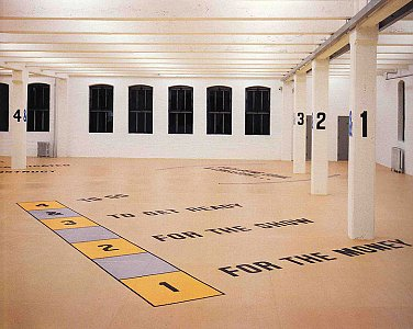 Lawrence Weiner <i>Displacement  </i> New York: DIA Center for the Arts.  April 4 1991 -June  1992