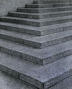 "Dan Graham <i>""Steps"" ""Court Building, New York City"",</i> 1966 Colour photograph 71 x 72 cm"