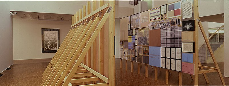 <i>Homes From Homes,</i> 2000-01 Installation view Musee D'art Moderne Lille Metropole, France,  26 January - 18 May 2002