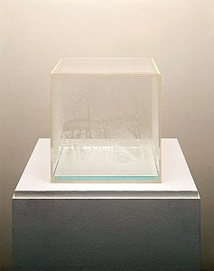 Hans Haacke <i>Condensation Cube,</i> 1963-65 Plexiglass and water 30 x 30 x 30 cm