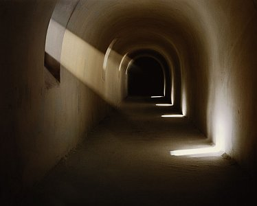 <i>Tunnel #2,</i> 2003 C-Print mounted on Plexiglass Various sizes