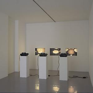 Fernando Ortega  <i>Panico Escenico</i>, 2004 35mm slide projection with 240 slides and 3 slide projectors Dimensions variable