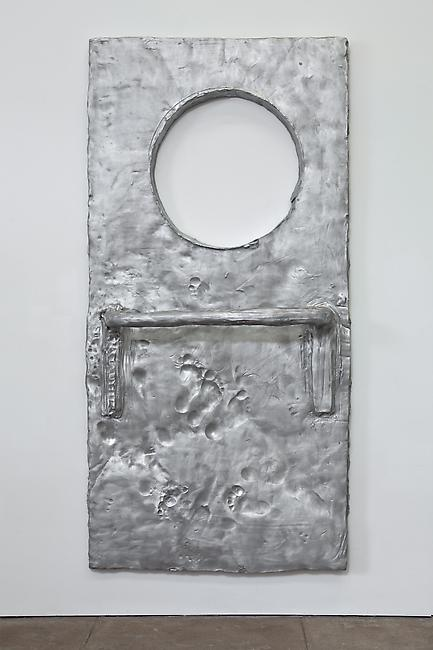 <i>Holder</i>, 2010 cast aluminum 96 x 47 x 12 inches