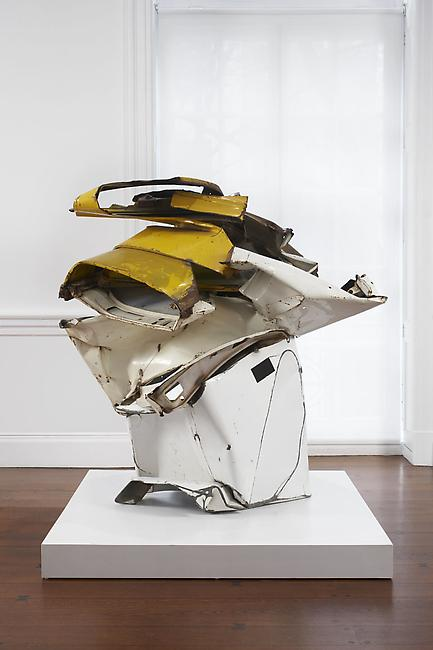 <i>Big E</i> 1962 painted and chromium-plated steel 60 x 59 x 48 inches