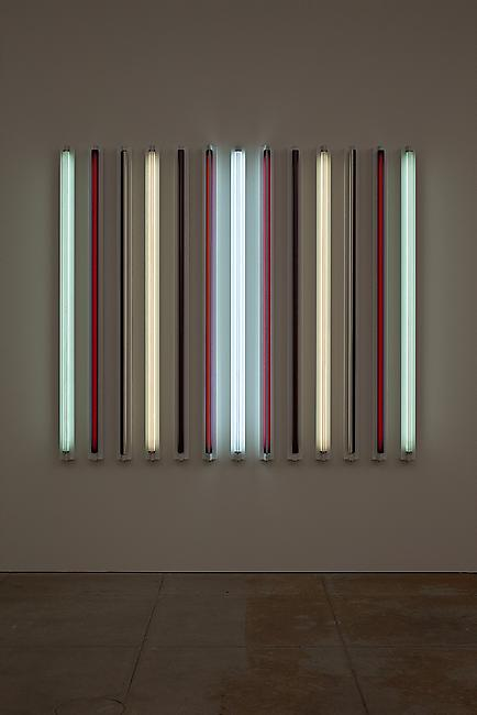 <i>Four Corners</i>, 2011 Light + Shadow + Reflection + Color 72 x 81 3/8 x 4 5/8 inches