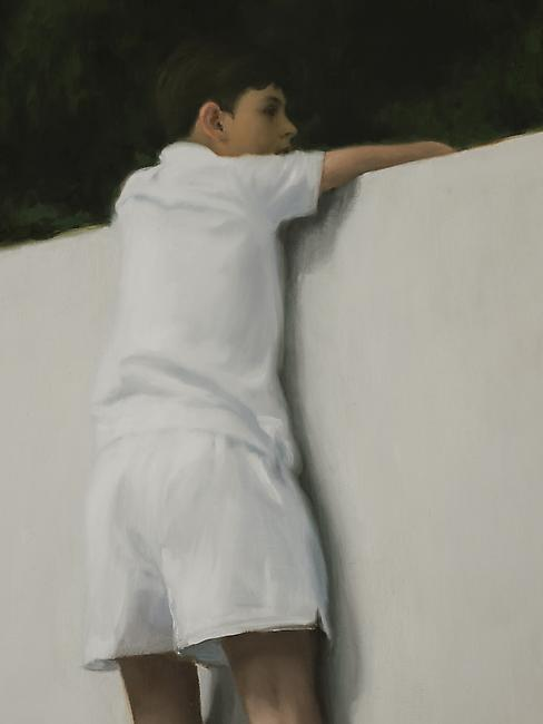 <i>Boy on Wall</i> detail  Photo credit: Fredrik Nilsen