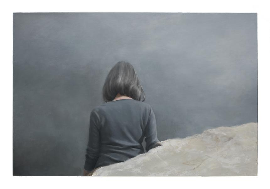 <i>Untitled II</i>, 2012<br> Oil on linen<br> 39.5 x 59 inches (100 x 150 cm)<br>  Photo credit: Fredrik Nilsen