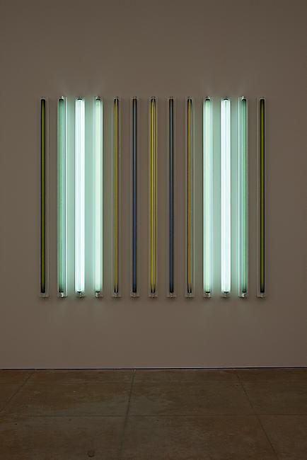 <i>Sidewinder</i>, 2011 Light + Shadow + Reflection + Color 72 x 81 3/8 x 4 5/8 inches