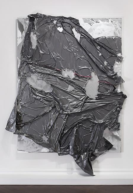 <i>Untitled</i>, 2009 mixed media 92 x 72 inches