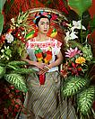 Yasumasa Morimura <i>An Inner Dialogue with Frida Kahlo (Four Parrots)</i> , 2001 Color photograph Edition of 5 59 X 47 1/4 in. ( 149.86 X 120.02 cm )