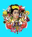 Yasumasa Morimura <i>An Inner Dialogue with Frida Kahlo (Festive Decorations)</i> , 2001 Color photograph Edition of 10 47 1/4 X 37 3/4 in. ( 120.02 X 95.89 cm )