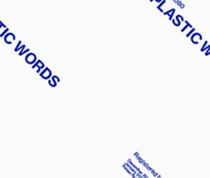 "David Musgrave in ""Plastic Words"""