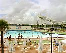 Joel Sternfeld <i>Wet n' Wild Aquatic Theme Park, Orlando, Florida, September 1980</i> from <i>American Prospects</i> Digital c-print Edition of 10 with 2 artist's proofs Image size: 42 x 52 1/2 inches Paper size: 48 x 58 1/2 inches