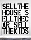 Christopher Wool <i>Apocalypse Now</i>, 1988 Alkyd and flashe on aluminum and steel  84 X 72 inches  (213.4 X 182.9 cm)