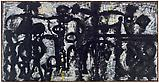 Richard Pousette-Dart <i>59th Street Ramp</i>, 1947 Acrylic on linen 37 x 72 inches  (93.98 x 182.88 cm)