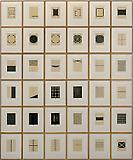Zarina Hashmi Home is a Foreign Place, 1999 Portfolio of 36 woodcuts with Urdu text printed in black on Kozo paper, mounted on Somerset paper Edition of 25  Block size: 8 x 6 inches Sheet size: 16 x 13 inches