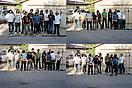 Larry Clark <i>Carlos, Sergio, Porky, Jonathan, Churro, Eddie, Kico, Ricardo,  Spermball (Milton), P.J., Armando</i>, 2004 Pigment Print Edition of 3 with 2 artist's proofs 55 3/4 X 82 1/2 inches (141.61 X 209.55 cm)