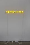 <i>Untitled (Only Poetry)</i>, 2011 Neon Edition of 5 and 1 artist's proof 4 x 34 inches (10.16 x 86.36 cm)