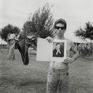 Larry Clark <i>Billy Mann</i>, 1961 Print: 2014 Black and white photograph 20 x 16 inches  (50.8 x 40.64 cm)