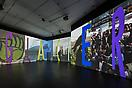 Charles Atlas <i>Glacier</i> Installation view Bloomberg Space, London, 2013