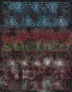 Philip Taaffe <i>Choir</i>, 2015 Mixed media on canvas 141 1/4 x 110 3/4 inches (358.8 x 281.3 cm)