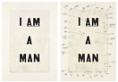 Glenn Ligon <i>Condition Report</i>, 2000 Iris print and Iris print with serigraph, 2 parts Edition of 20 32 x 22.75 inches each (81.3 x 57.8 cm each)