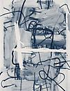 Christopher Wool Untitled, 2006 Silkscreen ink on paper 72 X 55 1/4 inches  (182.88 X 140.34 cm)