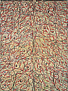 Philip Taaffe <i>Eros and Psyche</i>, 1994 Mixed media on canvas 132 x 100 1/2 inches (335 x 255 cm)