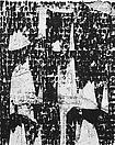 Glenn Ligon <i>Figure #63</i>, 2010 Acrylic, silkscreen, and coal dust on canvas 60 X 48 inches  (152.4 X 121.92 cm)
