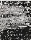 Glenn Ligon <i>Figure #93</i>, 2011 Acrylic, silkscreen and coaldust on canvas 60 X 48 inches  (152.4 X 121.92 cm)