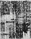 Glenn Ligon <i>Figure #26</i>, 2009 Acrylic, silkscreen and coal dust on canvas 60 X 48 inches  (152.4 X 121.92 cm)