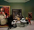 Yasumasa Morimura <i>Las Meninas renacen de noche IV: Peering at the secret scene behind the artist</i>, 2013 C-print Edition of 10 and 2 artist's proofs 23 5/8 X 19 5/8 inches  (60 X 50 cm)