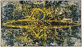 Richard Pousette-Dart <i>Icarus</i>, 1951 Oil on linen 41 1/2 x 72 1/4 inches  (105.41 X 183.52 cm)