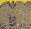 Philip Taaffe <i>Inner City</i>, 1993 Mixed media on canvas 99 x 105 inches (251.5 x 267 cm)