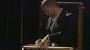 Jason Moran <i>Looks of a Lot</i> Performance work commissioned by Chicago Symphony Orchestra In collaboration with Theaster Gates Featuring the Bandwagon, Katie Ernst, Ken Vandermark, and the Kenwood Academy Jazz Band May 30, 2014 Chicago Symphony Orchestra <br>Courtesy RoundO Films