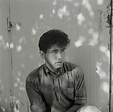 Larry Clark <i>Johnny Bridges</i>, 1961 Print: 2014 Black and white photograph 20 x 16 inches (50.8 x 40.64 cm)